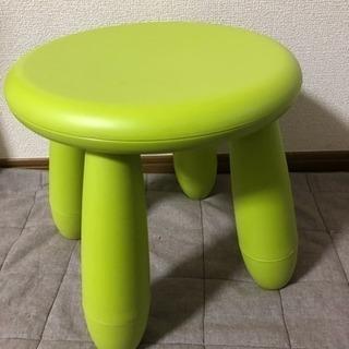 IKEA マンムット キッズチェア 子供用スツール