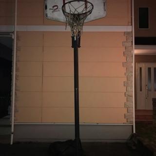 バスケットゴール差し上げます。