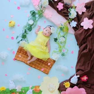 赤ちゃんの「今」を残す!おひるねアート体験会@スタジオウネルマ