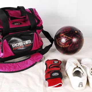7998 ボウリングセット ボール ZONE PRO am PRO...