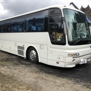 平成8年ふそうエアロミディ観光バス