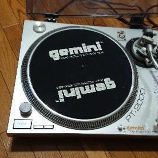 【中古 DJの練習用に最適♪】レコードプレイヤー