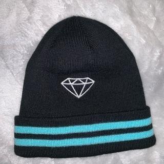 ダイヤモンド ニット帽