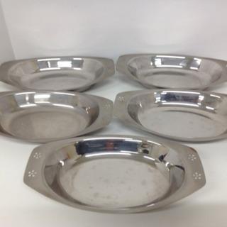ステンレス食器 カレー シチュー皿 5個セット