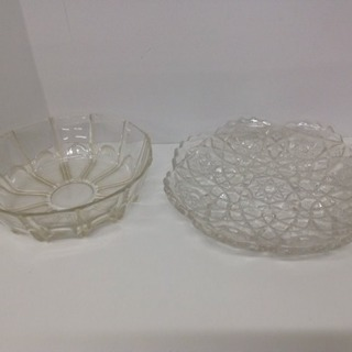 ガラス大皿 直径25cm