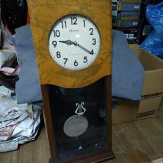 ジャンク品 大きな 柱時計 振り子時計