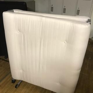 折り畳みベッド ベッド ホワイト 東KB