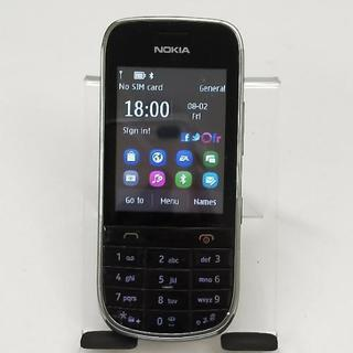 Nokia Asha 203 with charger