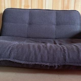 ソファーベッド 使用感あり