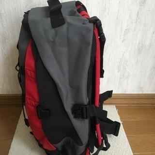 リュックサック  背中クッション付き 通勤、レジャー用 - 靴/バッグ