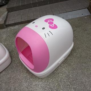 花王 ハローキティ 猫トイレ