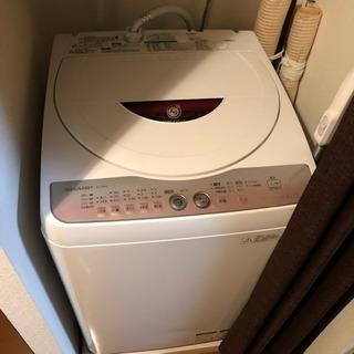 シャープ全自動洗濯機 6kgタイプ 問題なく使ってました!
