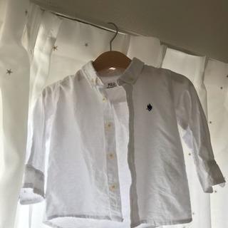 poloベビーシャツ一度数時間着用のみ!