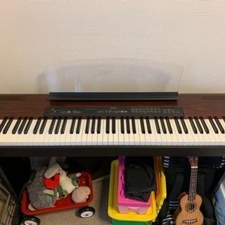【無料】電子ピアノ ヤマハ P-120 鍵盤1つ難あり