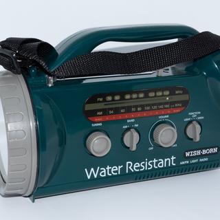 【未使用】AM/FMラジオ付きレジャーライト 懐中電灯