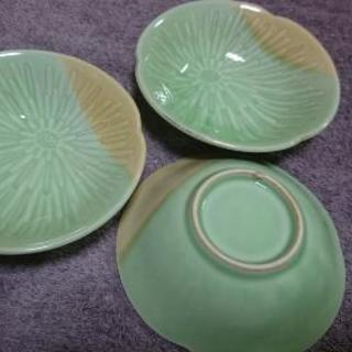 【お譲りします】緑の小鉢✕3個