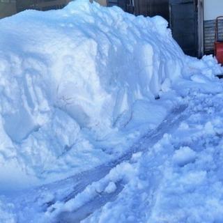 雪除雪作業 承ります。 なんでもお問い合わせ下さい