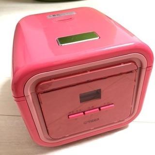 【お取引完了】タイガー 炊飯器 3合 ピンク 2012年製(20...