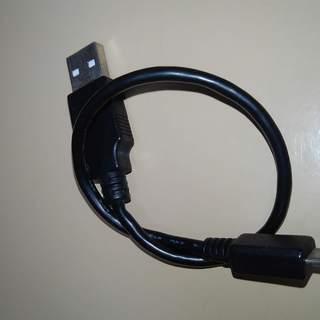 未使用 Micro USB ケーブル 28cm