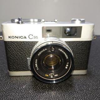 昭和レトロカメラ コニカC35