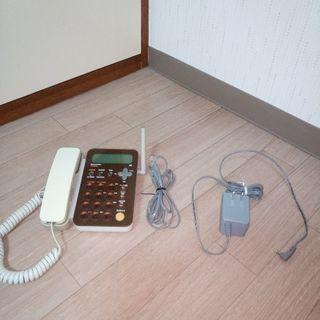 シャープ 電話機 (親機のみ)