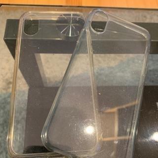 IPhone XS クリアカバー