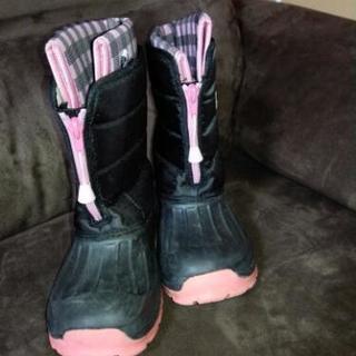 雪仕様、冬仕様長靴