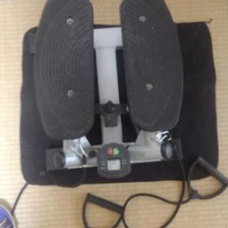 健康ステッパー パワーバンド付き 油圧式