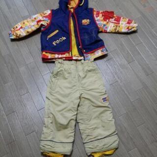 子供用スキーウェア90サイズ