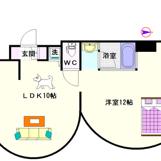 【ZEUSα】2号タイプ!1LDKタイプ!デザイナーズ物件です!!