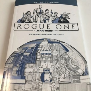 Star Wars Rogue One塗り絵