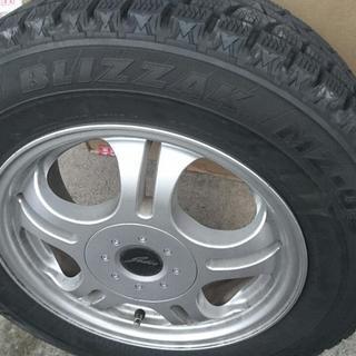【特価】スタッドレスタイヤ&ホイール4本セット 205/65R15