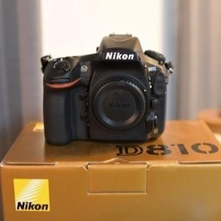 Nikon D810 極上品 元箱 付属品あり 予備バッテリ付