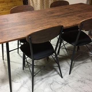 商談中   テーブルセット