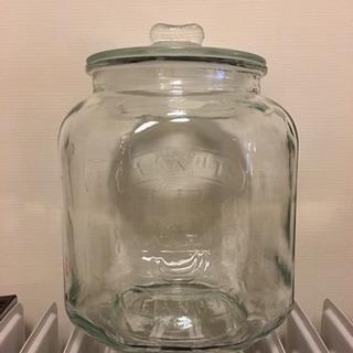 ガラスジャー  保存容器  ピーナッツジャー