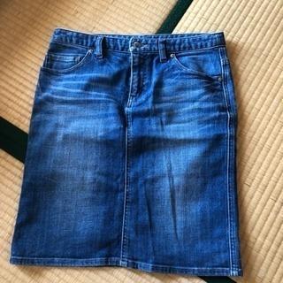デニムのタイトスカートLサイズお譲りします。