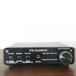 FX-AUDIO- D302J+[ブラック] ハイレゾ対応デジタ...
