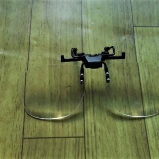拡大鏡、メガネに装着できる。送料無料、お得です。