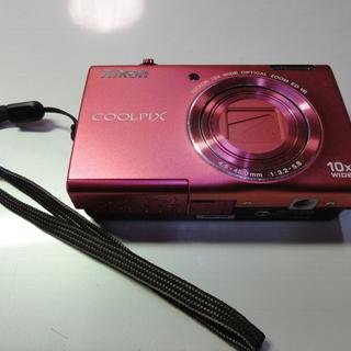 西663 ニコン デジタルカメラ COOLPIX チェリーピンク...