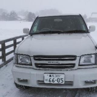 希少車検31年3月29日 いすゞ ビッグホーン V6 最終型