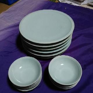 フグ刺身用 中皿6枚+受皿10個セット