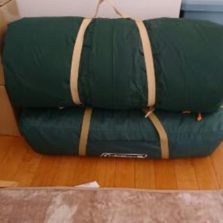 コールマンのテント(size300)とインナーマット(フォールディ...