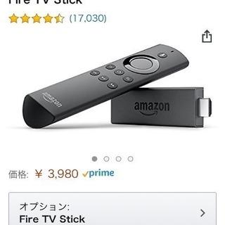 アマゾン fireTVstick 音声認識リモコン付
