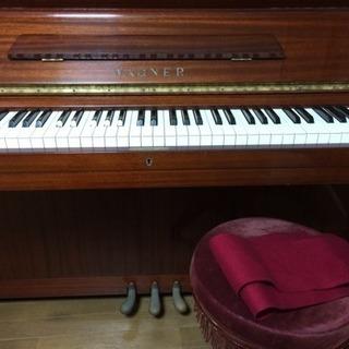 ワグナー アップライトピアノ 木目調 WAGNER W3