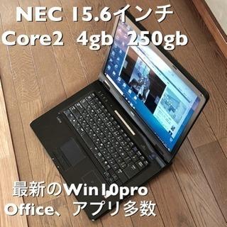 🔶NEC  LaVie 15.6インチ/Core2/メモリ4GB/...