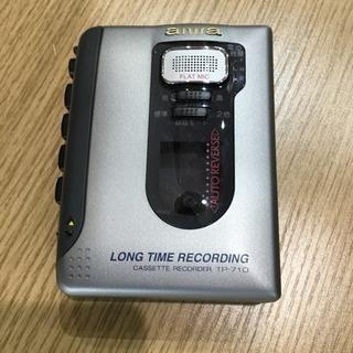 #2115 AIWA アイワ カセットテープレコーダー TP-710