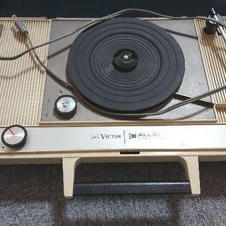 Victor製 持ち運べる携帯LPレコードプレーヤー ビクター ...