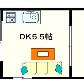 【パークサイドエール】1号タイプ!1DKタイプ!ワンフロア2戸の全...