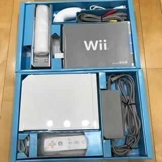 ゲーム Wii RVL-001 基本セット+ ソフト