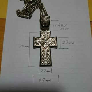 (お値下げ)クロス&ネックレス(大)
